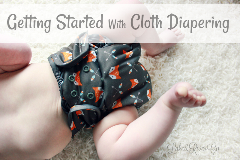getting started with cloth diapering