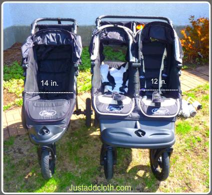 Baby Jogger City Elite Stroller Double Versus Single