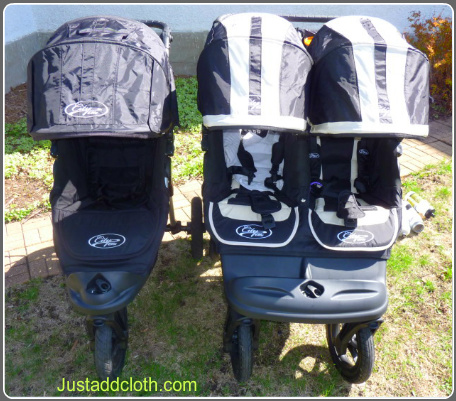 Baby Jogger City Elite Stroller Double Versus Single Just Add Cloth