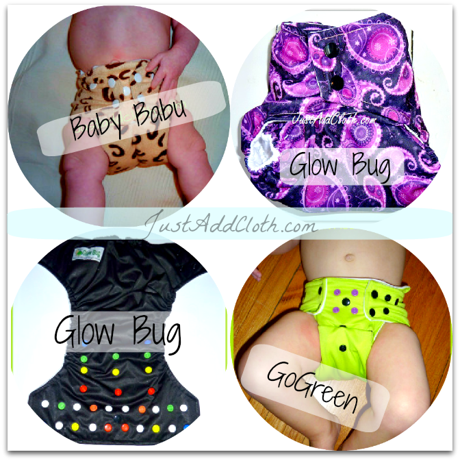 dual gusset cloth diapers