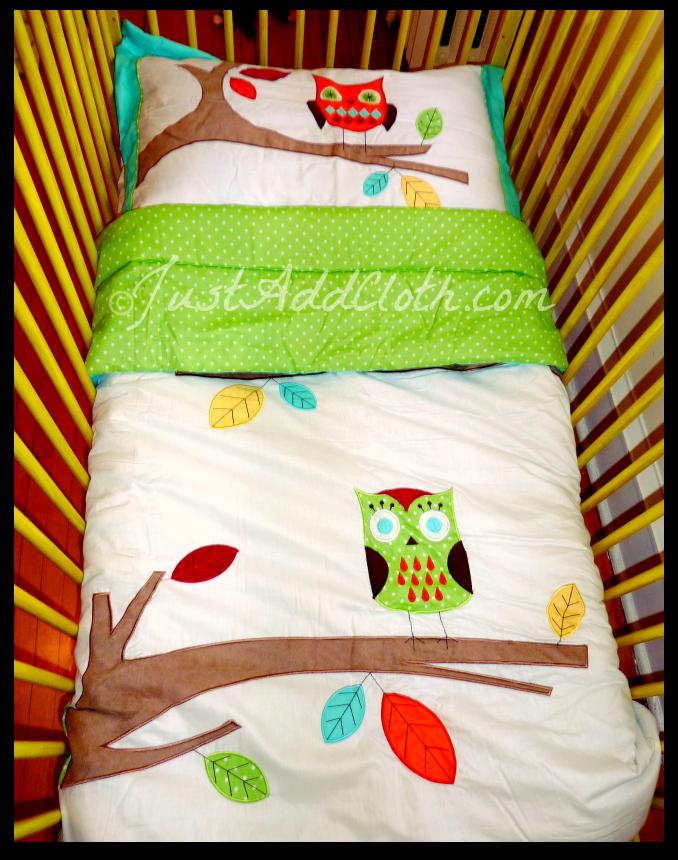 JoJo Designs Beyond Bedding Hooty Owl Toddler Set • Just