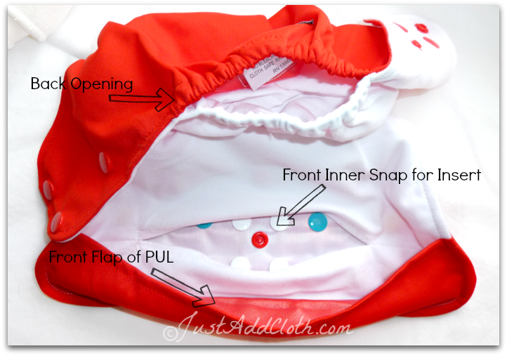 lalababy cloth diaper features