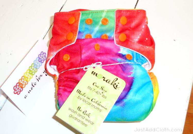 moraki all in two cloth diaper