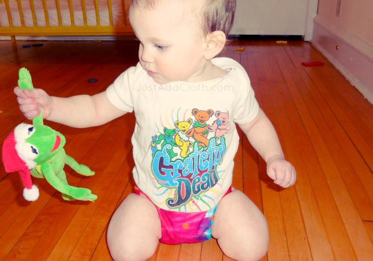 moraki tie dye cloth diaper grateful dead baby