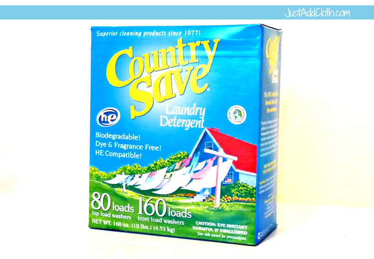 country save cloth diaper detergent