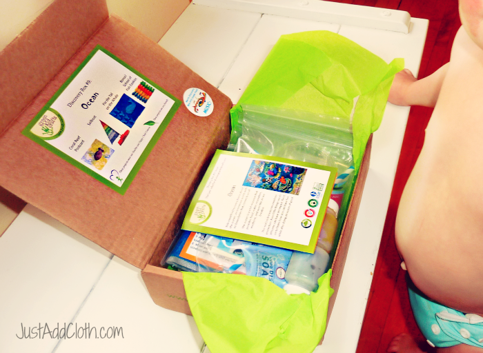 Green kid crafts monthly subscription box just add cloth for Kid craft subscription box