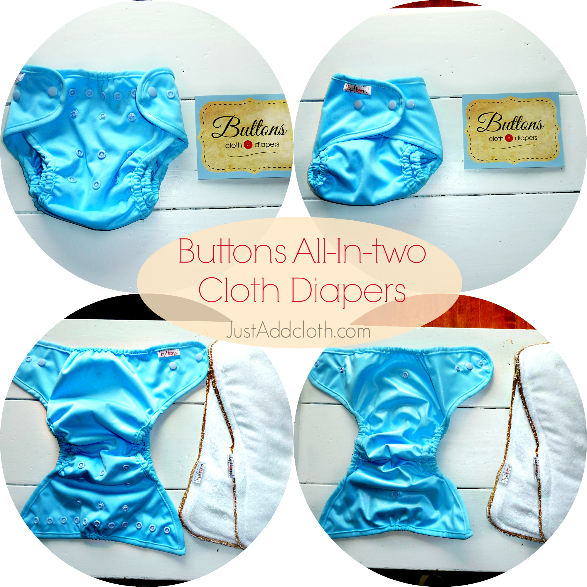 all in two cloth diapers