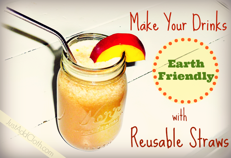 reusable drink straws