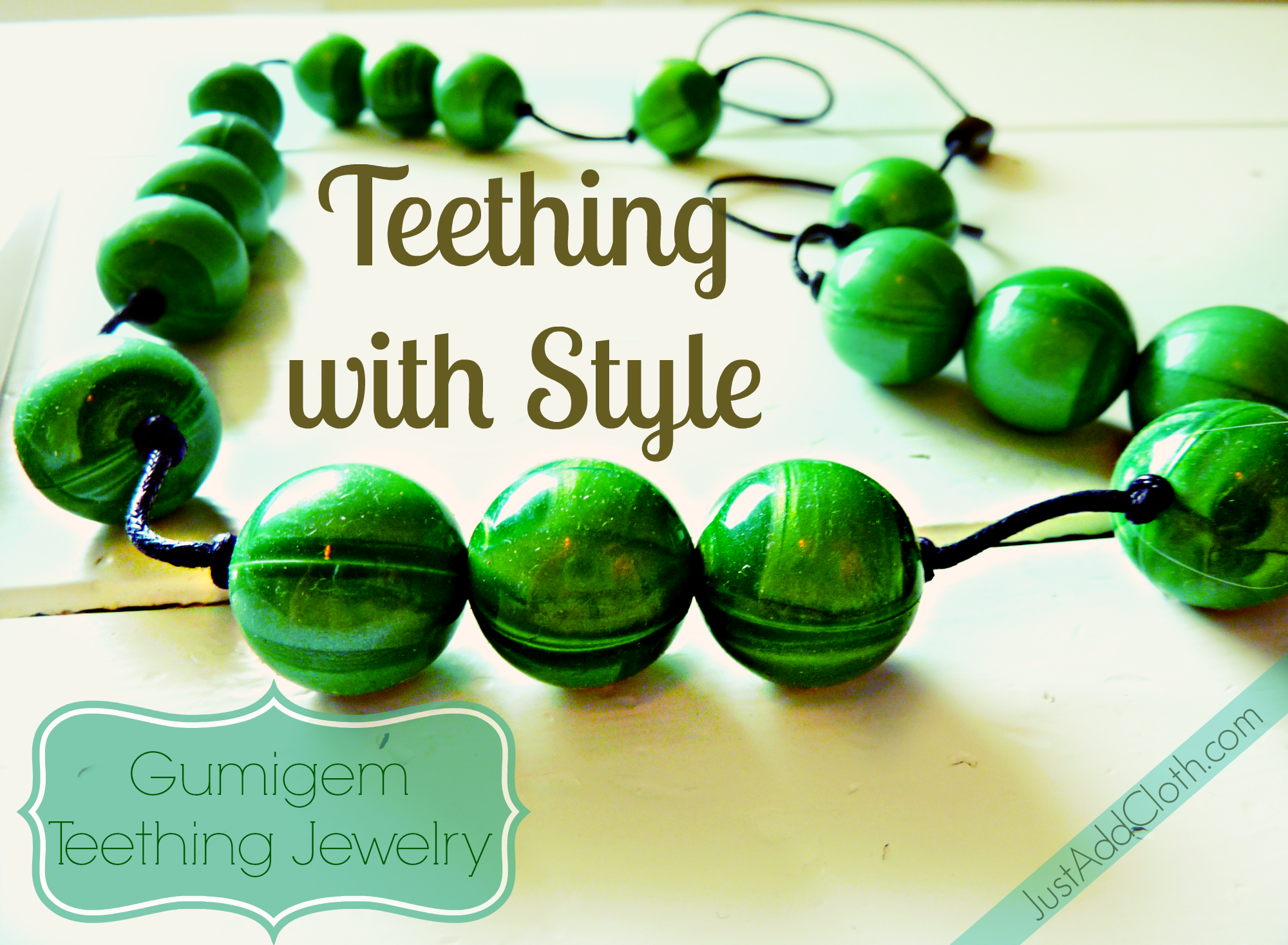 Teething In Style With Gumigem Just Add Cloth