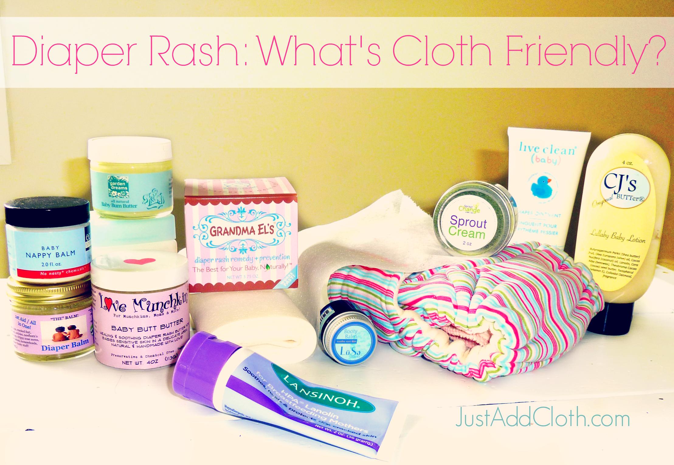 diaper rash cream cloth diapers