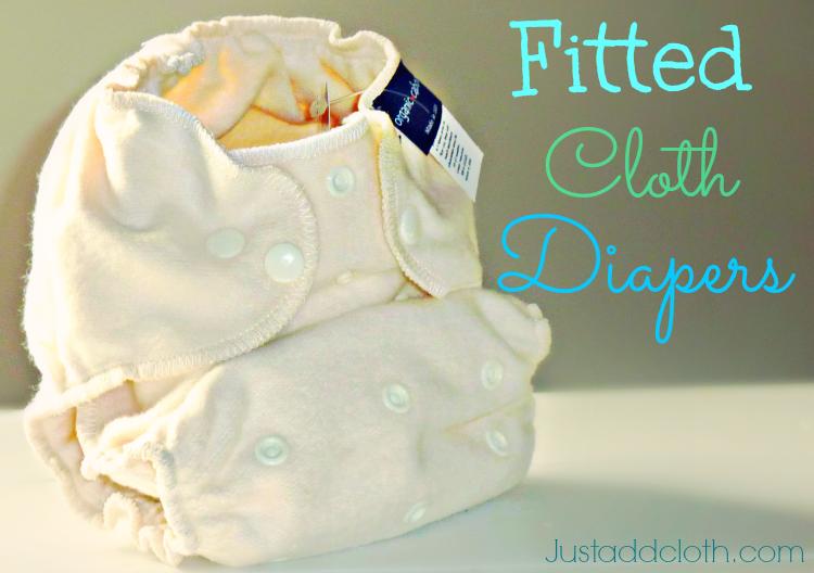 organic caboose fitted cloth diaper