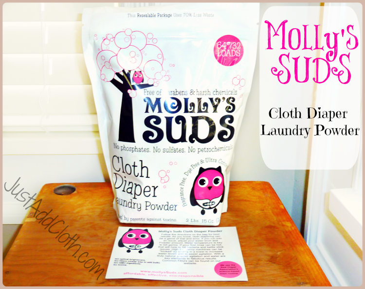 Molly's Suds Cloth Diaper Laundry Powder