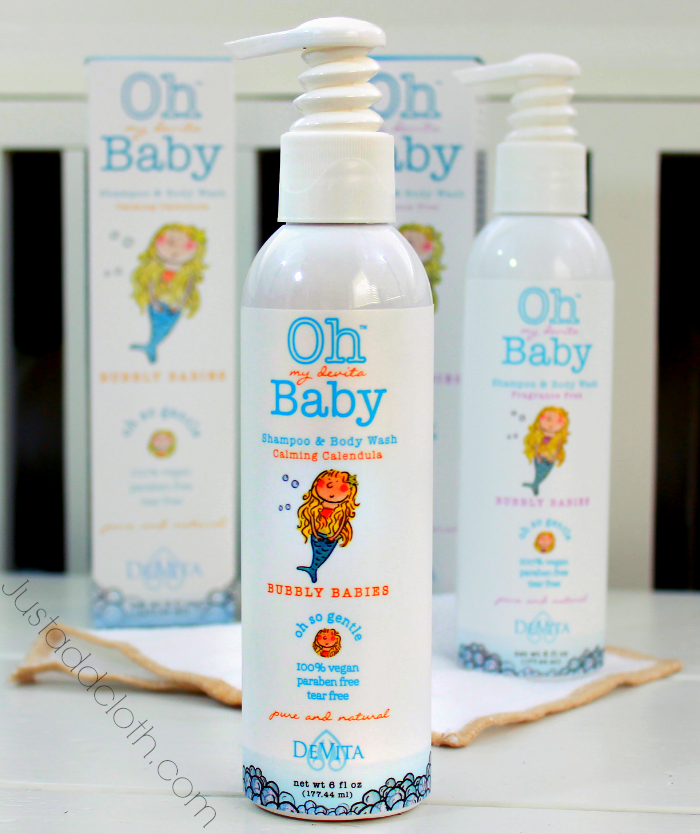 Oh My Devita Baby Natural Baby Body Care Just Add Cloth