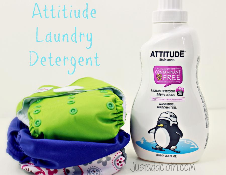 attitude laundry detergent 1
