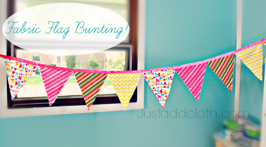 Flag Bunting with Ribbon