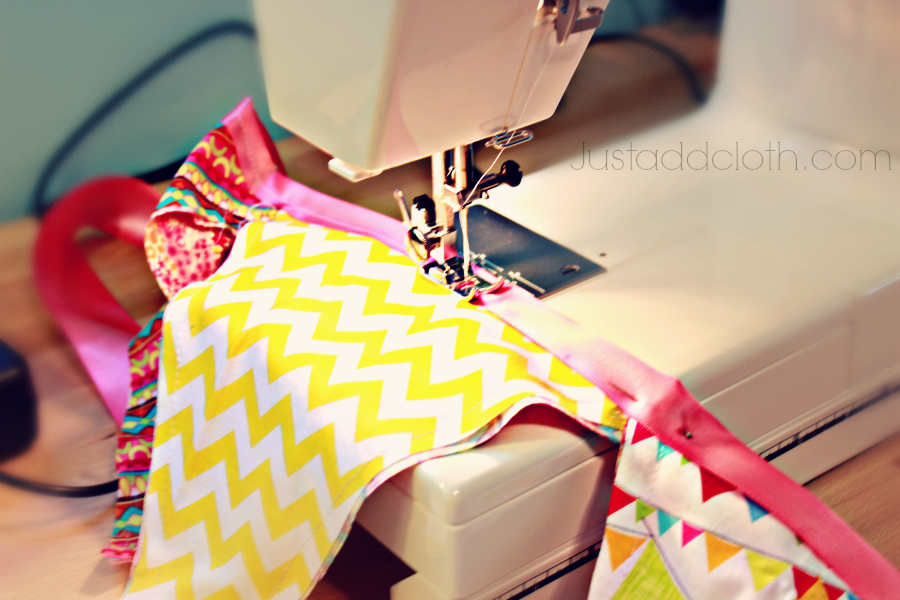 Flag bunting with Ribbon 3