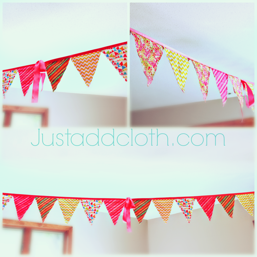 flag bunting with ribbon 5