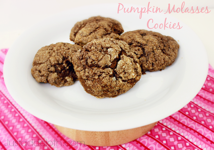 pumpkin molasses cookies 1