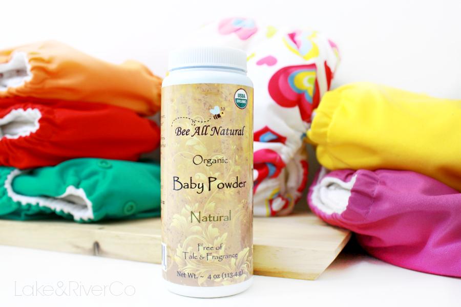 Bee All Natural Organic Baby Powder Just Add Cloth
