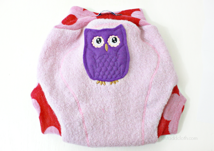 humbird wool cloth diaper cover 4