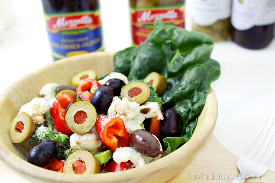Our Holiday Tradition Greek Salad with A Bounty of Olives 1