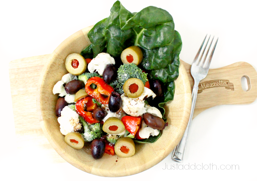 Our Holiday Tradition Greek Salad with A Bounty of Olives 4