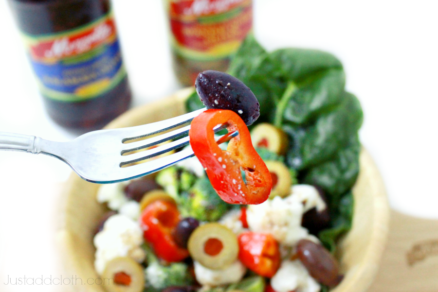 Our Holiday Tradition Greek Salad with A Bounty of Olives 6