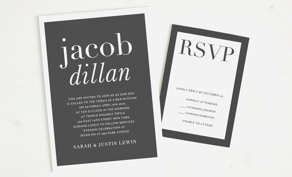 get ready for another celebration season with basic invites