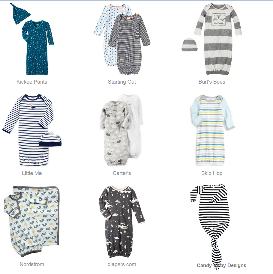 Sleep Gowns for Baby Boys • Just Add Cloth