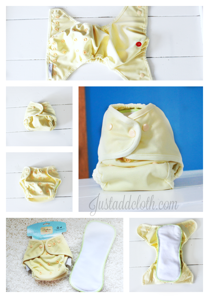 buttons cloth diapers newborn 4