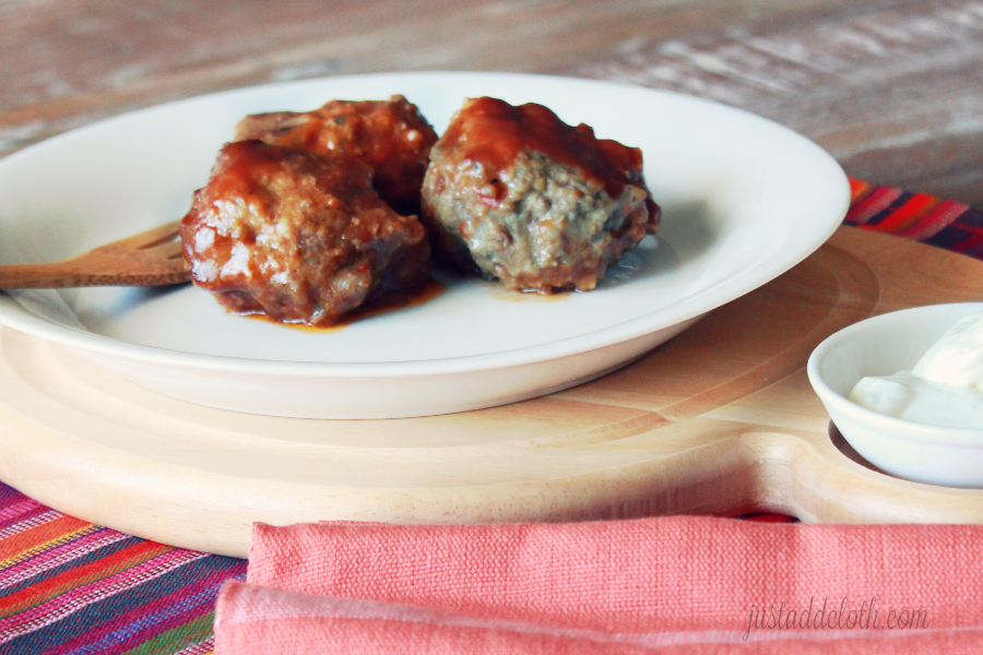 Slow Cooker Barbecue Meatballs 2