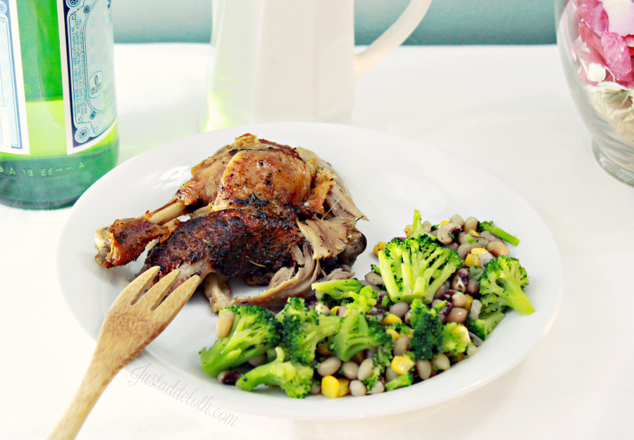 Garlic Lime Roasted Whole Duck 1