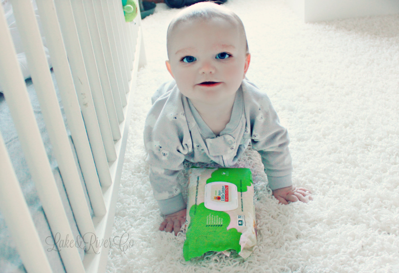 Happy Little Camper Natural Cotton Baby Wipes • Just Add Cloth
