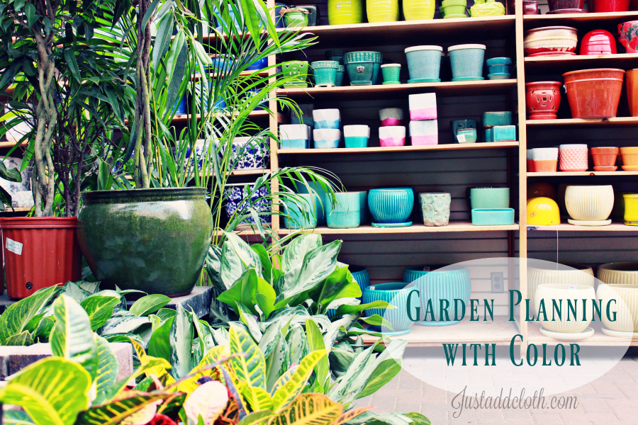 garden planning with color 1