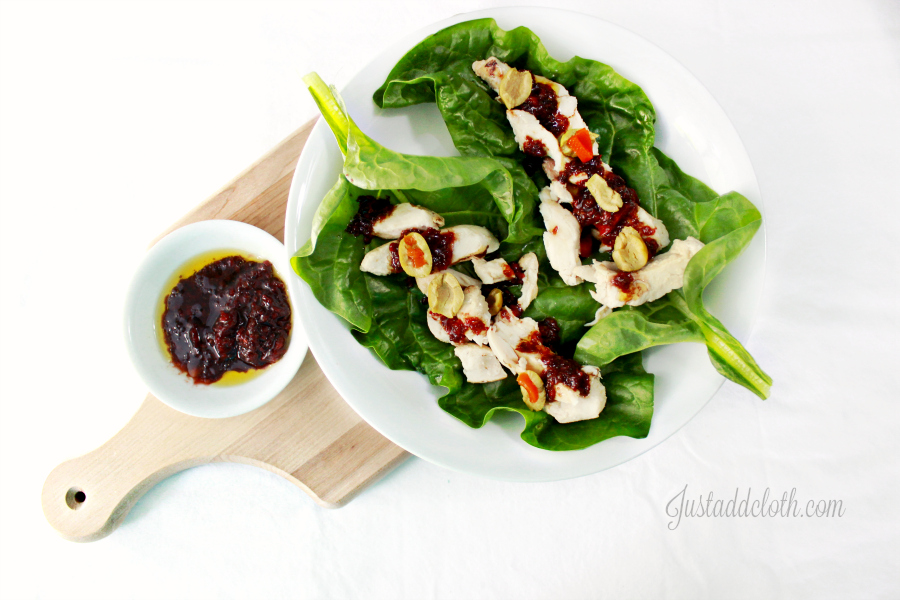 Cherry Chive Vinaigrette Salad Dressing 1