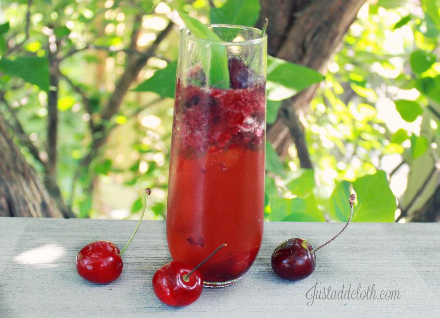 cherry rum fizz 1