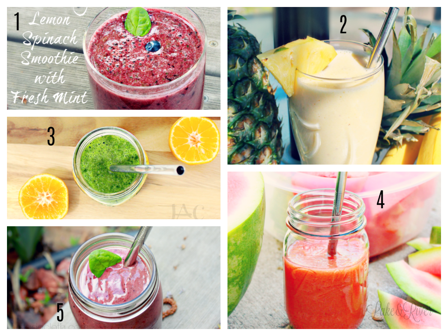 5 summer smoothies