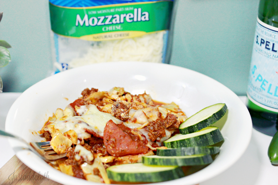 Low Carb Gluten Free Pizza Cabbage Bake 4
