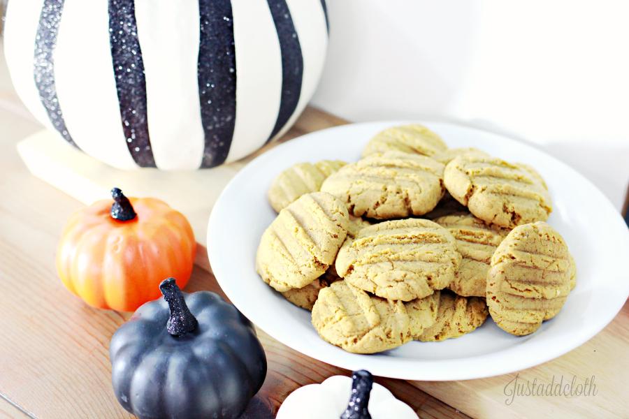 Soft & Chewy Gluten Free Pumpkin Cookies 1
