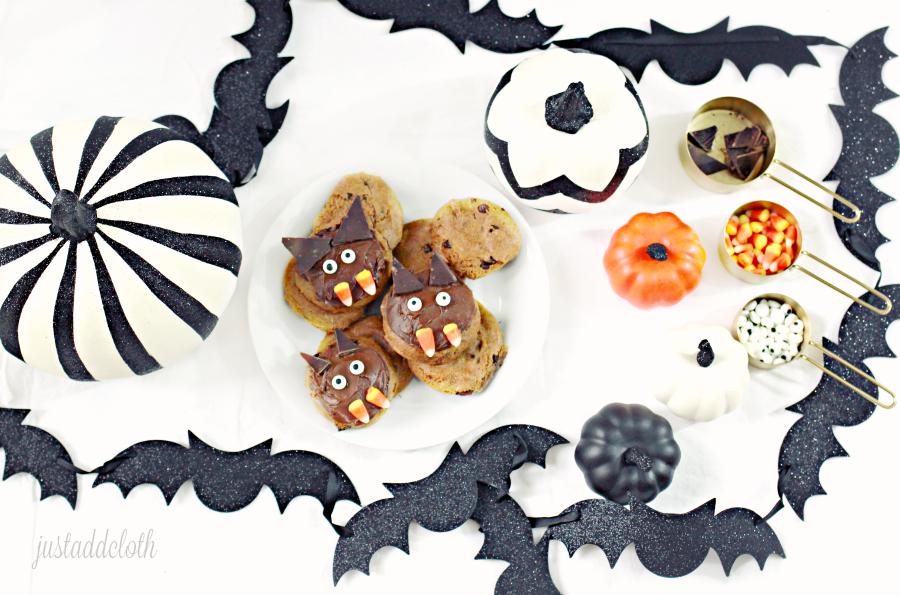 halloween bat cookies gluten free 1