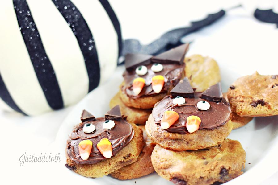 halloween bat cookies gluten free 2