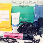 Beauty Box Five August 2014