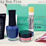 Beauty Box Five October 2014