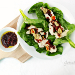 Cherry Chive Vinaigrette Salad Dressing (On Chicken & Spinach Wraps)