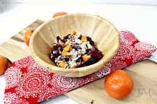Cranberry Clementine Crumble