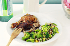 Garlic Lime Whole Roasted Duck