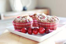 Gluten Free Cranberry Muffins
