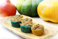 Gluten Free Winter Squash Muffins with Coconut Flour