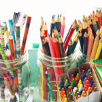Kid Art Supplies: From Messy Cabinet to Organized Art Cart