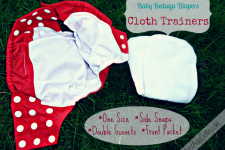 Baby Beduga Cloth Trainers